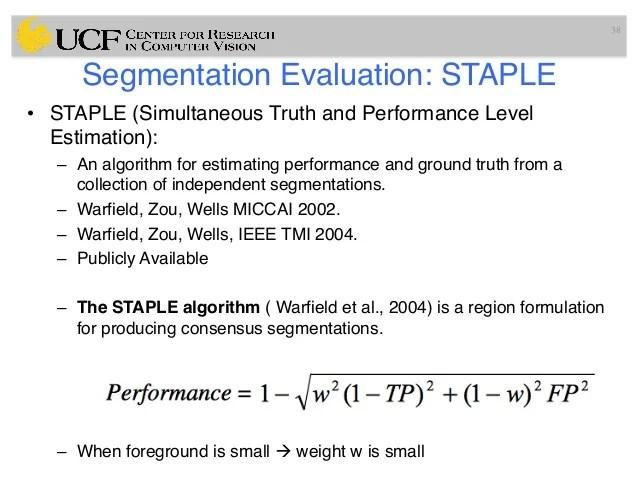 Lec14 Evaluation Framework For Medical Image Segmentation