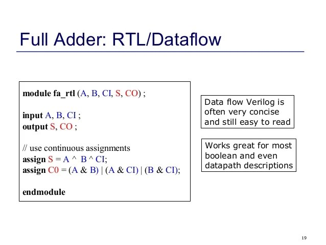 Verilog Lecture2 thhts