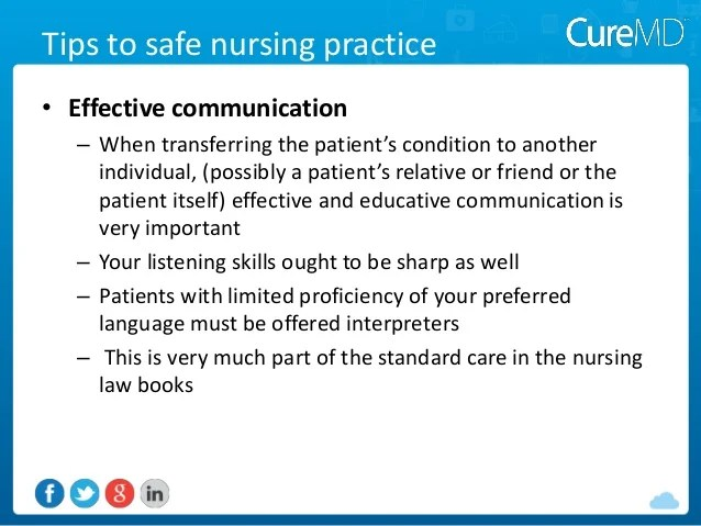 Communication Health Techniques Care