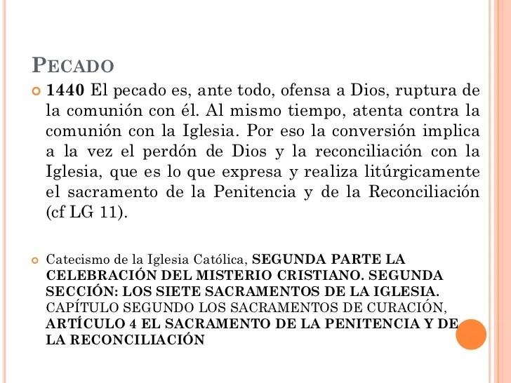 Que Es La Reconciliacion Catolica