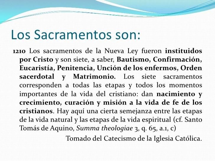 7 Dios Los Ley De De La Sacramentos