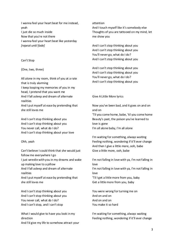 I Wanna Be Your Baby Lyrics