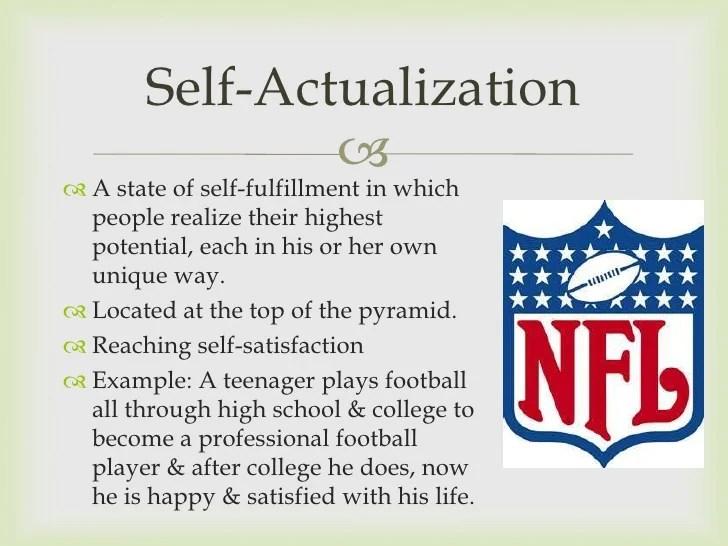 Examples Self Esteem