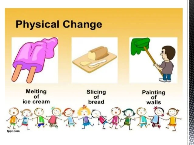 They Physical And Used Are What Chemical Changes Are How Substance And