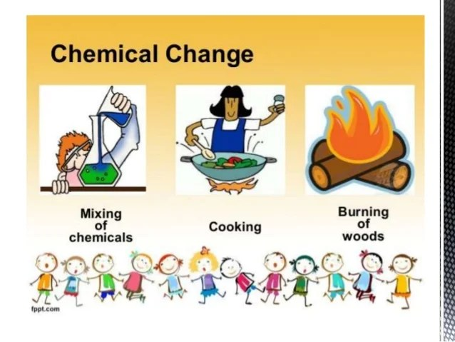 They And Are Chemical Are Used Changes And How What Physical Substance