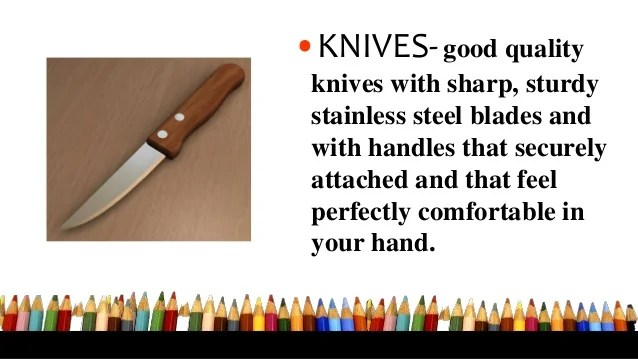 Good Quality Kitchen Knives