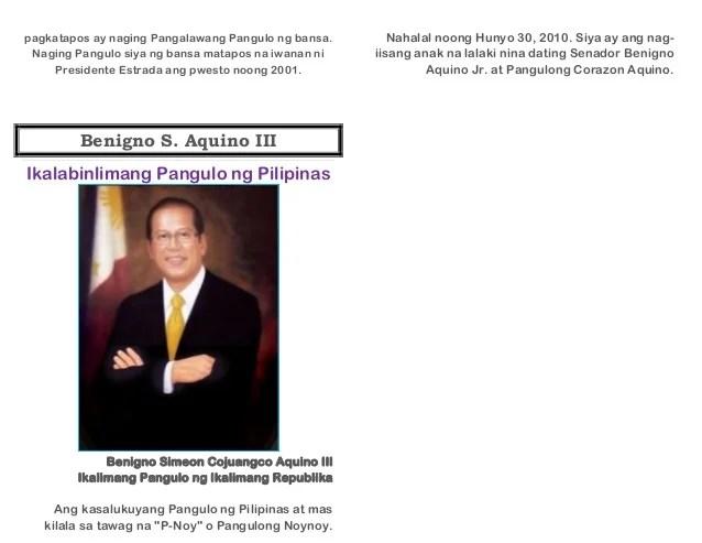 Mga Pangulo Ng Pilipinas