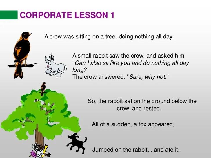 Short Stories Moral Lessons