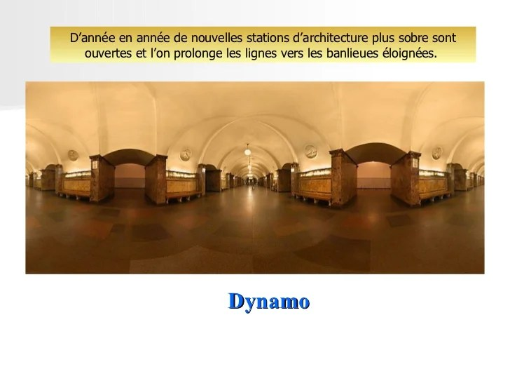 Dynamo Moscow Metro Stations