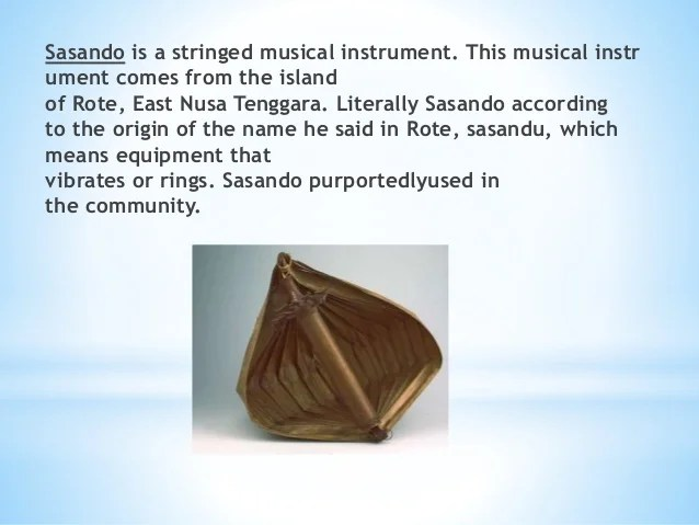 Musical Instruments of Indonesia