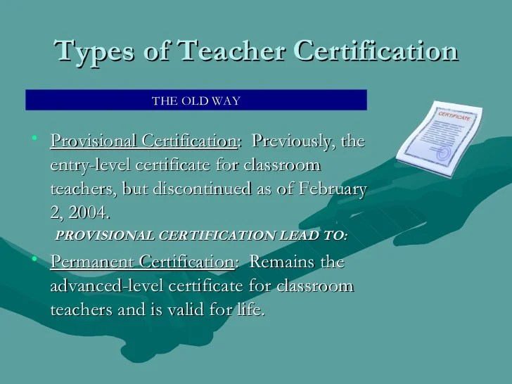 Ny State Teacher Assistant Certification