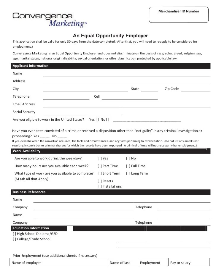 New hire packet