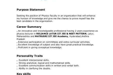 28 resume templates for freshers free samples examples. sample ...