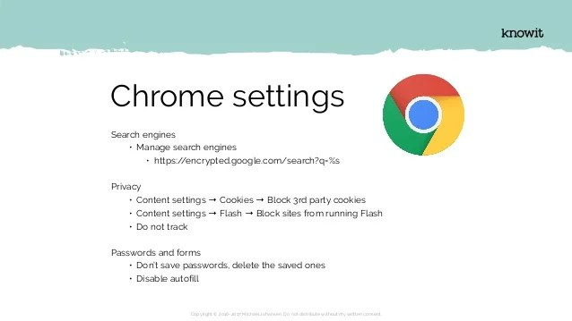 Disable Web Security Chrome 60