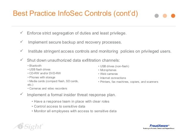 Infosec Policies And Procedures