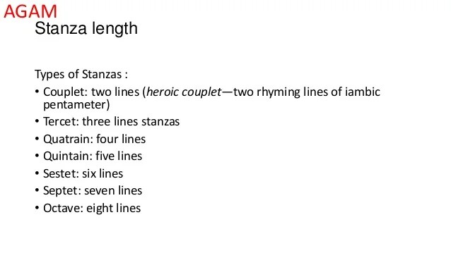 Couplet Poetry Examples