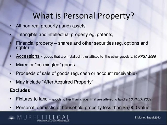 Personal Property Security New Zealand