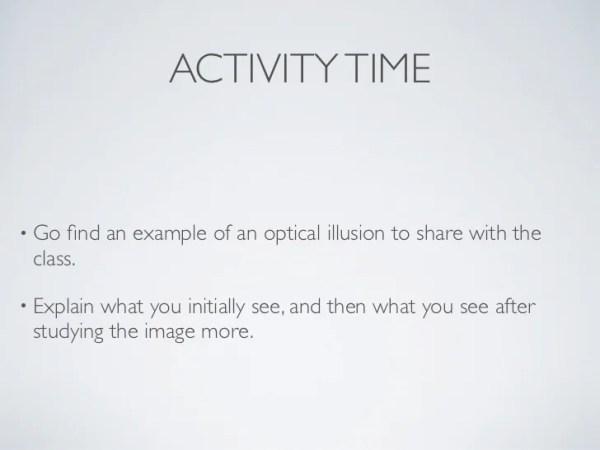 optical illusions school presentation # 25