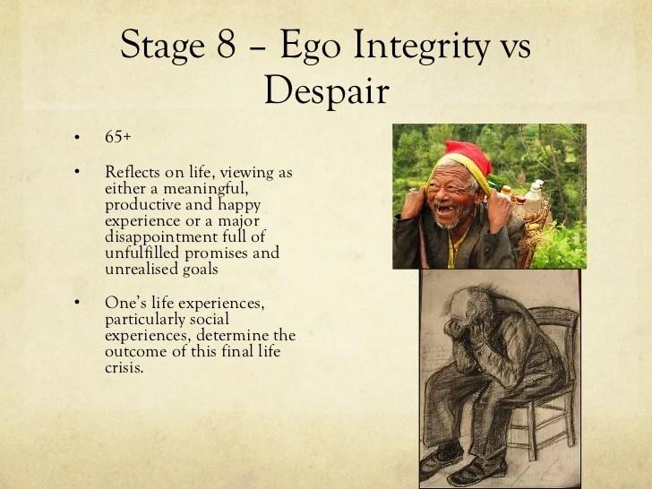 Integrity Vs Despair Ego 8