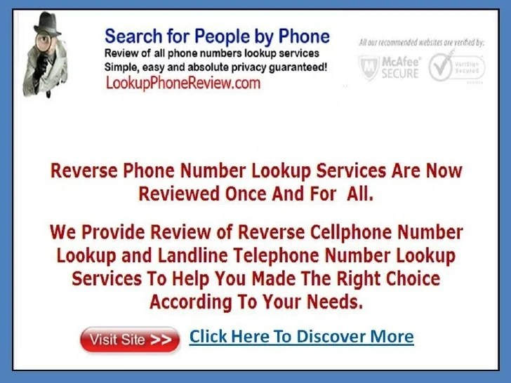 No Charge Cell Number Lookups