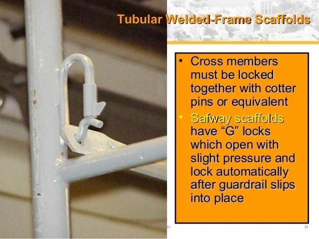 Frame Scaffold Welded Tubular