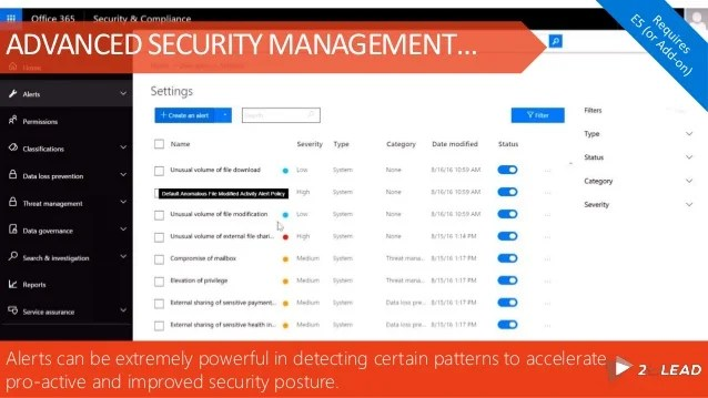 Device Security Policy Office 365