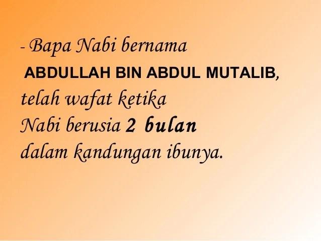 Silsilah Keturunan Nabi Muhammad Saw
