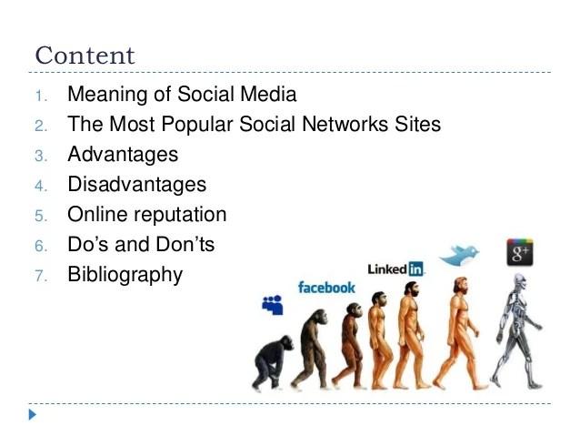 Social media and online reputation