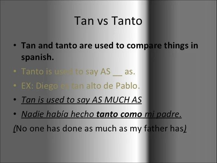 How Say Things Spanish