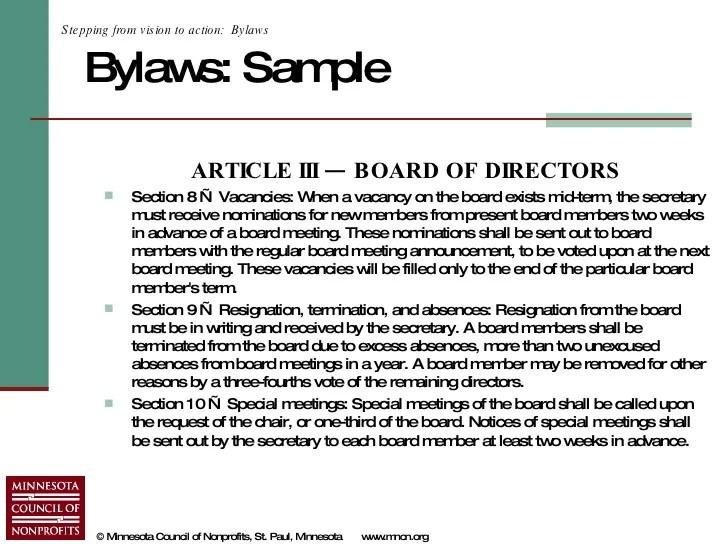 social club bylaws template