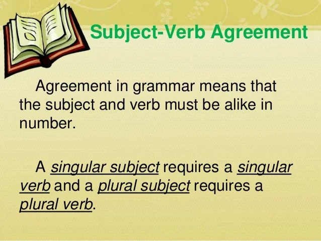 Compound Subject Plural Verb