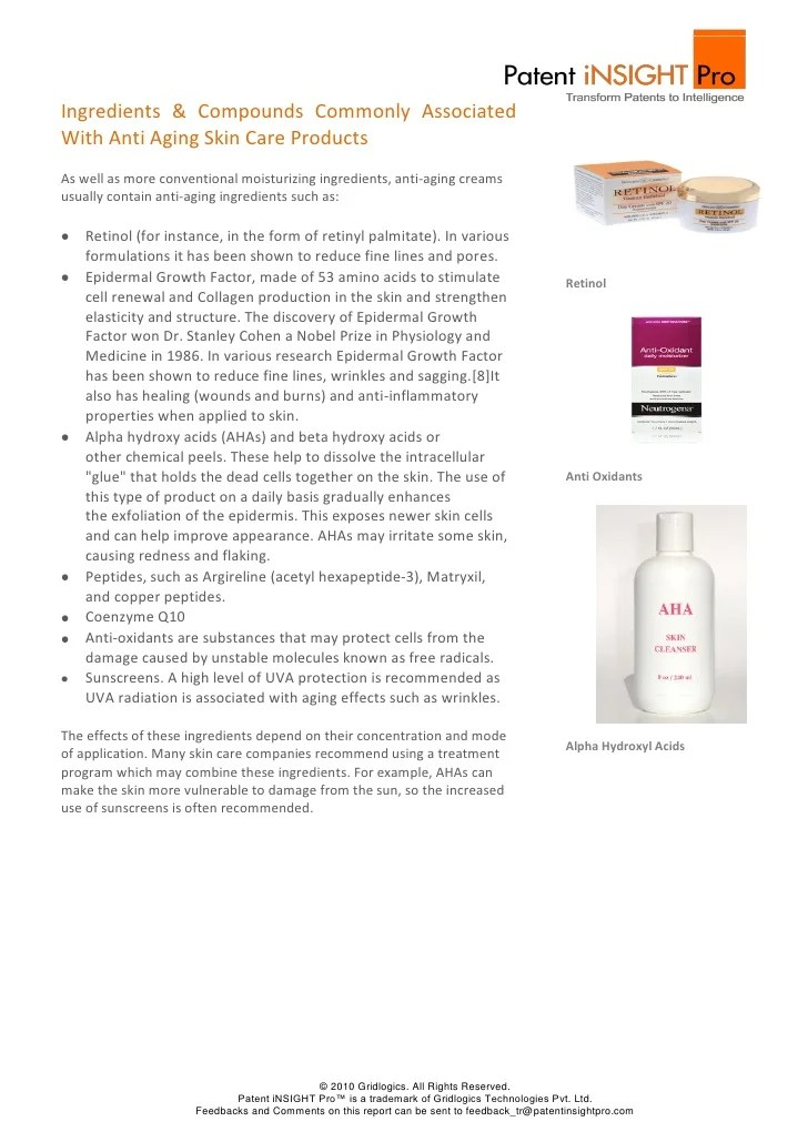 Epidermal Growth Factor Skin Care