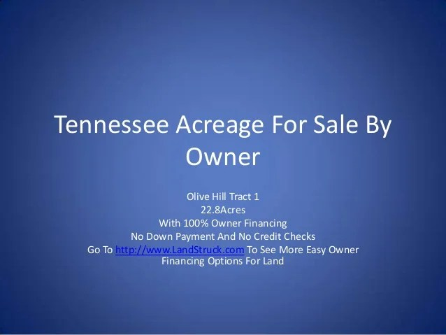 Land And Homes Sale Owner
