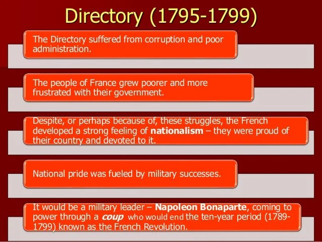 Directory France 1799