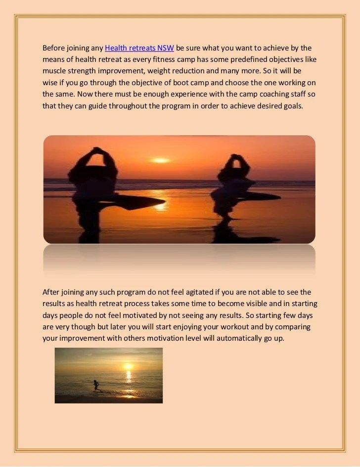 Best Self Improvement Retreats