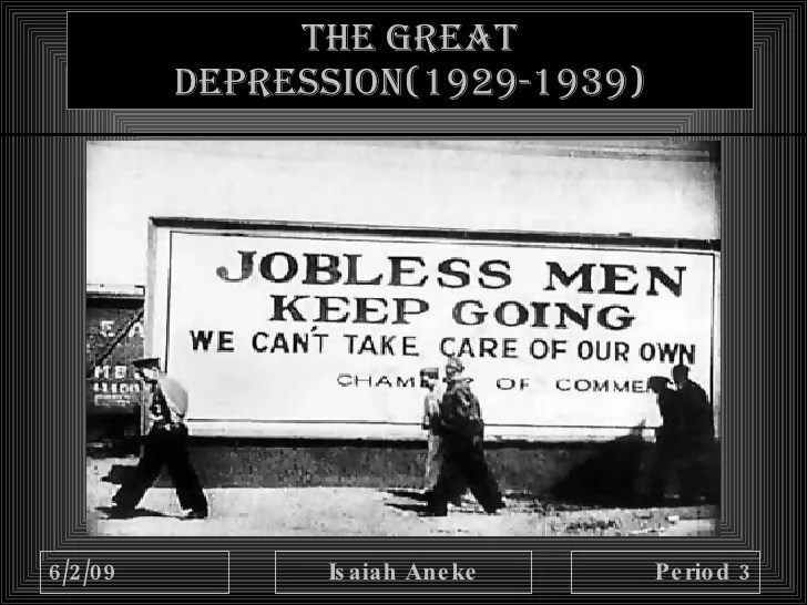 New Deal And Depression