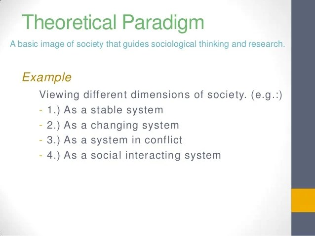 Sociology Methods Research Examples