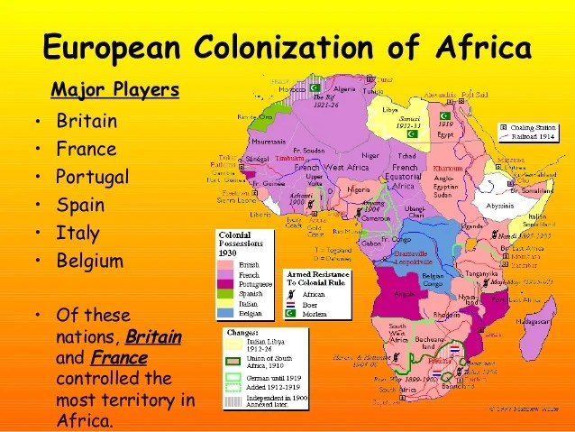 Africa Colonization Central
