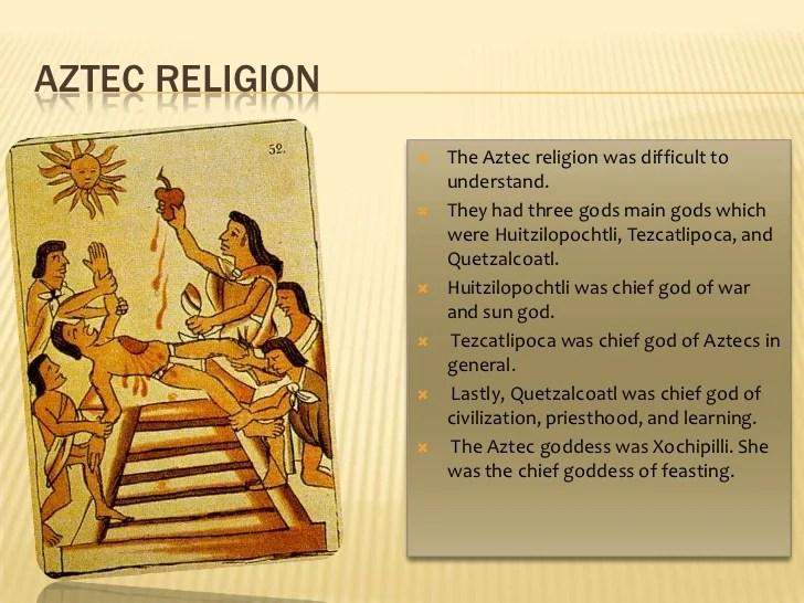 Aztec Religious Symbols