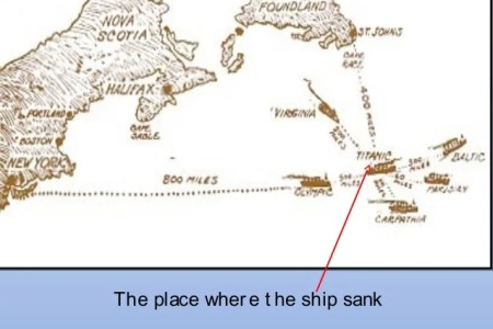 map where titanic sank » Free Wallpaper for MAPS | Full Maps