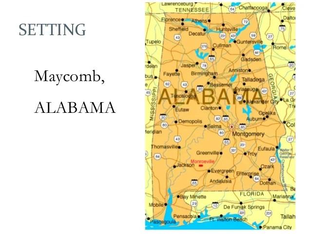 12 Map Of Maycomb County Mabuhayrestaurantandcatering Com ...