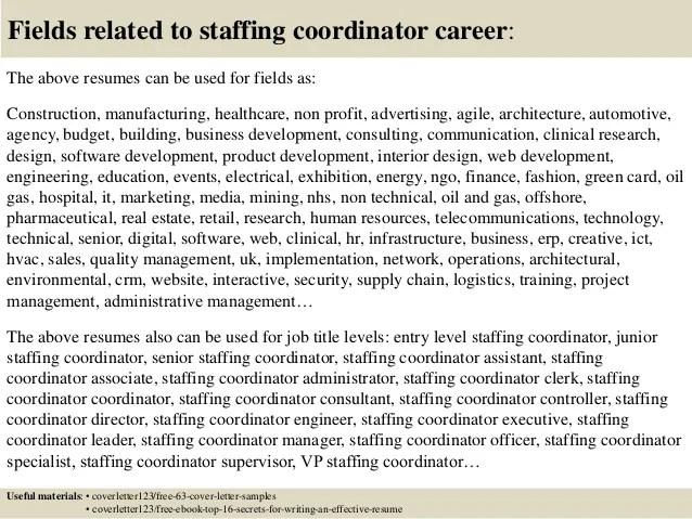 Cover Samples Coordinator Communication Letter