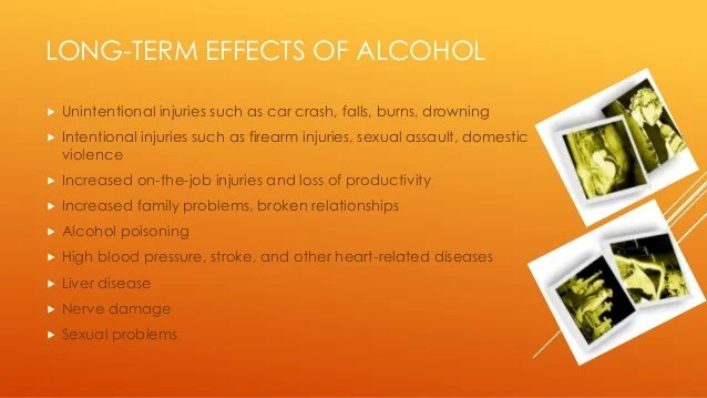 Alcohol Effects Heart