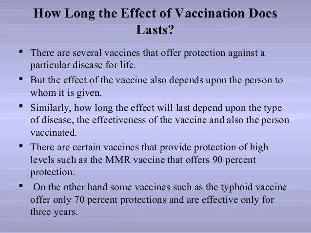How Long Does Rubella Vaccine Last