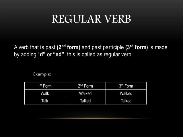 Laugh 2nd Form Verb