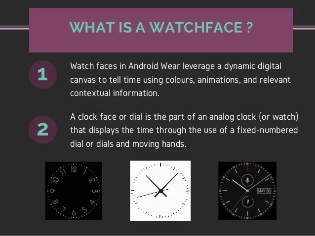 WatchfacePRO - How to make your own watchface