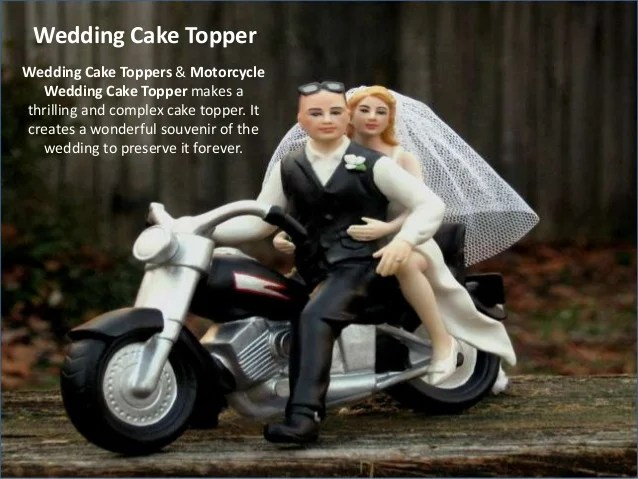 Wedding cake topper     Toppers   Motorcycle Wedding Cake Topers  8  Wedding