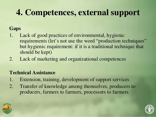 """""""Main gaps and technical assistance needs at institutional ..."""