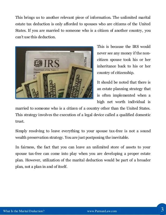 Estate Tax Non Citizen Spouse