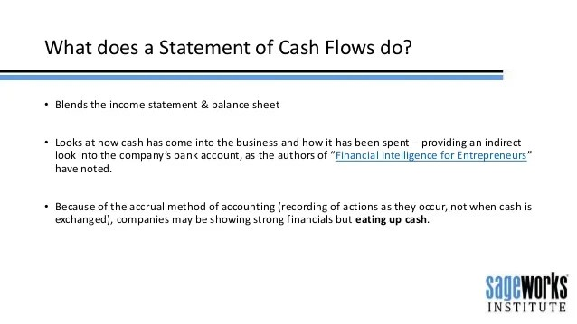 Why Cash Flow Statements are Important
